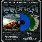 Broken Teeth – Bulldozer EP Vinyl (Blue Only)